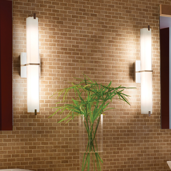 Led bathroom lighting led vanity lights and light bars lightinglifestyle bathroom lighting fixtures elegant vanity light bar designs and more at